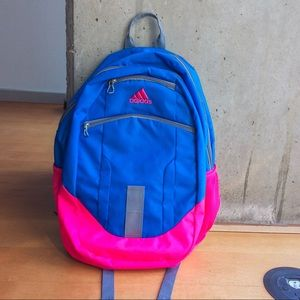 Women's Blue/Pink Adidas Backpack